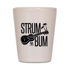 Strum Bum Shot Glass