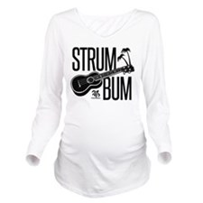 Strum Bum Long Sleeve Maternity T-Shirt