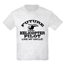 Future Helicopter Pilot Like My Uncle T-Shirt