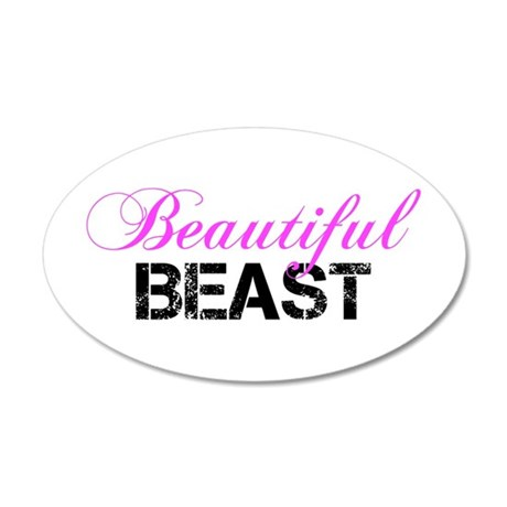 Beautiful Beast Wall Decal