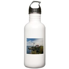 Portland Head Light Water Bottle