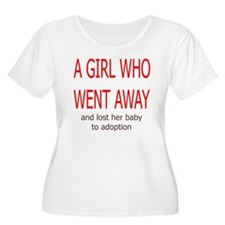 Girl Who Went Away Plus Size T-Shirt