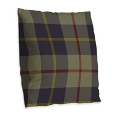 MacRae Tartan Burlap Throw Pillow