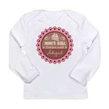 Personalized Mimis Girl Long Sleeve T-Shirt