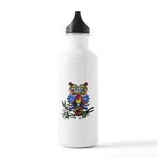 wild owl Water Bottle