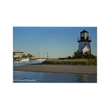 Cape Cod Lighthouse Rectangle Magnet