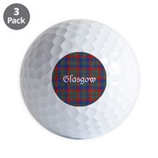 Tartan - Glasgow dist. Golf Ball