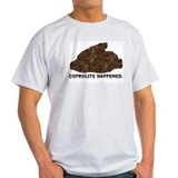 Coprolite Happened -- Ash Grey T-Shirt