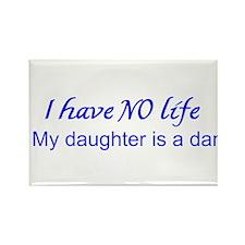 Dance Mum Rectangle Magnet (10 Pack) Blue