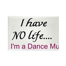 Dance Mum Rectangle Magnet (10 Pack)