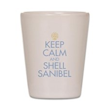 Keep Calm and Shell - Shot Glass