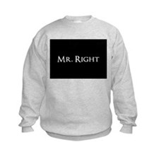 Mr Right part of his and hers set Sweatshirt