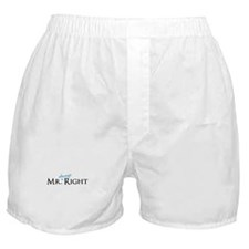 Mr always Right part of his and hers set Boxer Sho