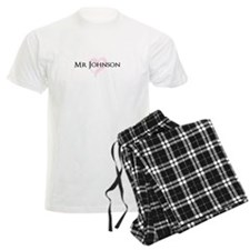 Own name Mr and Mrs set - Mr pajamas