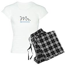 Customizable Mr and Mrs set - Mr pajamas