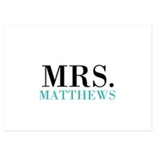 Custom name Mr and Mrs set - Mrs Invitations