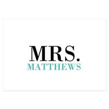 Custom name Mr and Mrs set - Mrs Invitations