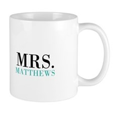 Custom name Mr and Mrs set - Mrs Mugs