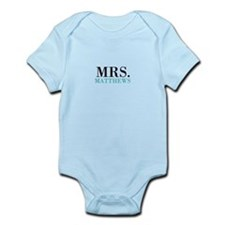 Custom name Mr and Mrs set - Mrs Body Suit