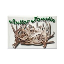 Antler Fanatic Rectangle Magnet (10 pack)