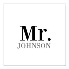Customized Mr and Mrs set - Mr Square Car Magnet 3