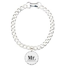 Customized Mr and Mrs set - Mr Bracelet
