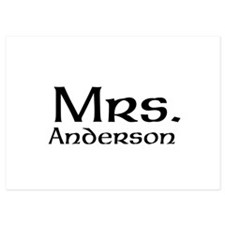Personalized Mr and Mrs set - Mrs Invitations