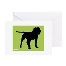 Bulldog iPet Greeting Cards (Pk of 10)