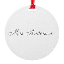 Half of Mr and Mrs set - Mrs Ornament