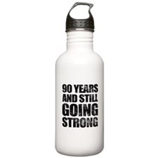 90th Birthday Still Going Strong Water Bottle