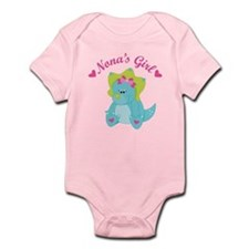 Nona's Girl Dinosaur Infant Bodysuit