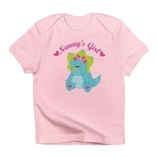 Nanny's Girl Dinosaur Infant T-Shirt