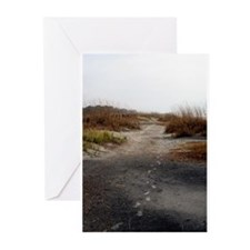 A Walk on the Beach Greeting Cards (Pk of 10)