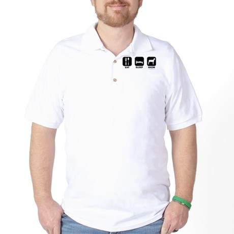 Eat Sleep Show Golf Shirt