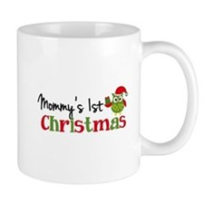 Mommy's 1st Christmas Owl Mug