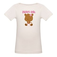 Yaya's Girl Teddy Bear Tee