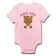 Gigi's Girl Teddy Bear Infant Bodysuit