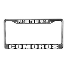 Comoros License Plate Frame