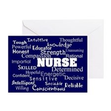 Nurse Bag 4 Greeting Cards