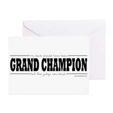 Grand Champion Lamb Greeting Cards (Pk of 10)
