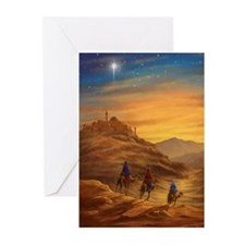 422 Three Wise Men d Greeting Cards (Pk of 20)