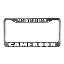 Cameroon License Plate Frame