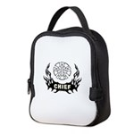 Fire Chief Tattoo Neoprene Lunch Bag