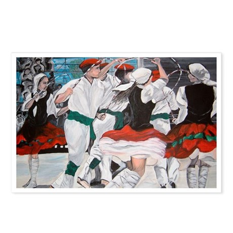 Basque Dancers Postcards (Package of 8)