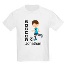 Personalized Soccer Sports Boy T-Shirt