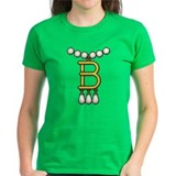 B Necklace Tee