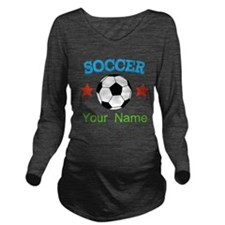 Personalized Soccer Ball Name Long Sleeve Maternit