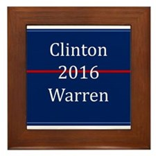 Clinton Warren 2016 Framed Tile