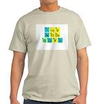 I LOVE NERDY BOYS T-SHIRT SHI Ash Grey T-Shirt