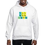 I LOVE NERDY BOYS T-SHIRT SHI Hooded Sweatshirt